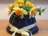 Friday-Flowerday – oder – Zu Ostern gab es Blumen (aus) in derBackform