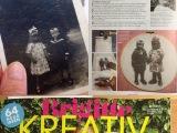 """Erinnerungen an meine Mama – oder – Wie das Mädchen mit der großen Schleife dafür sorgte, dass mein Foto in der neuen """"Brigitte Kreativ""""erscheint"""