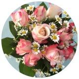 Friday-Flowerday – oder – Von geschenkten Rosen undPfingstrosen