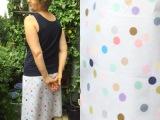 Bunte Tupfen für den Sommer – oder – Ein Rock vollerPunkte