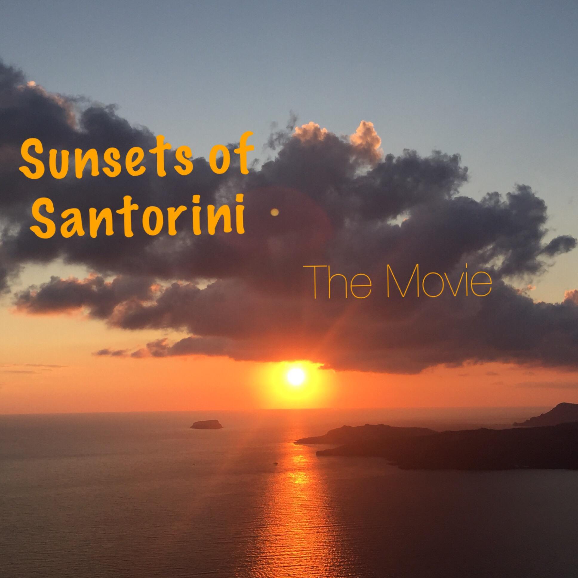 Sunsets of Santorini – oder – Ein Video zum Schwelgen
