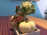 Friday-Flowerday – oder – Herbst auf demTablett