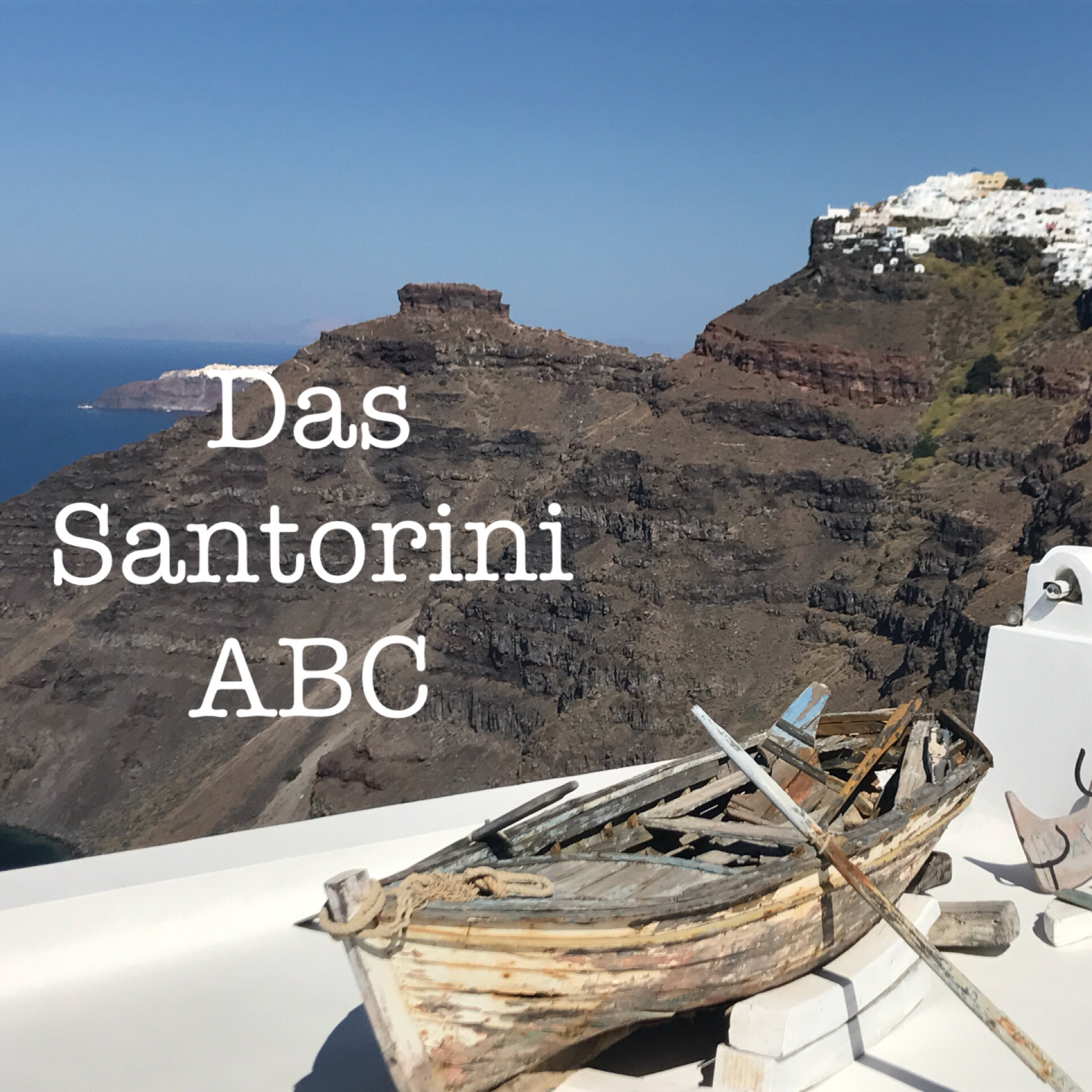 Das Santorini-ABC