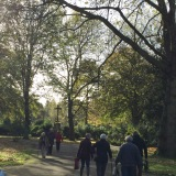 12tel-Blick im Oktober 2017 – Auf dem Friedhof ist waslos