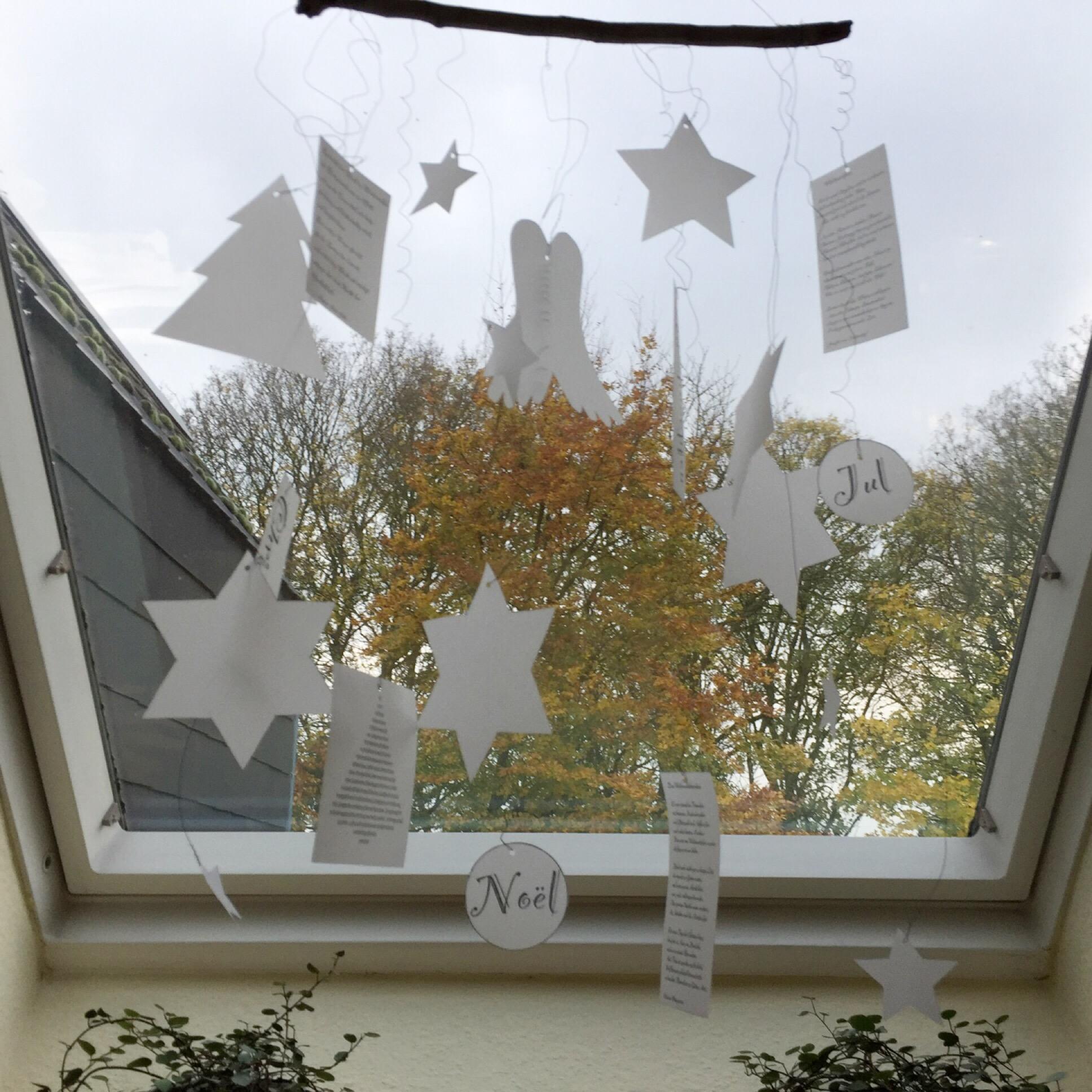 Early bird – oder – Weihnachtsgedichte für's Fenster mit Freebie