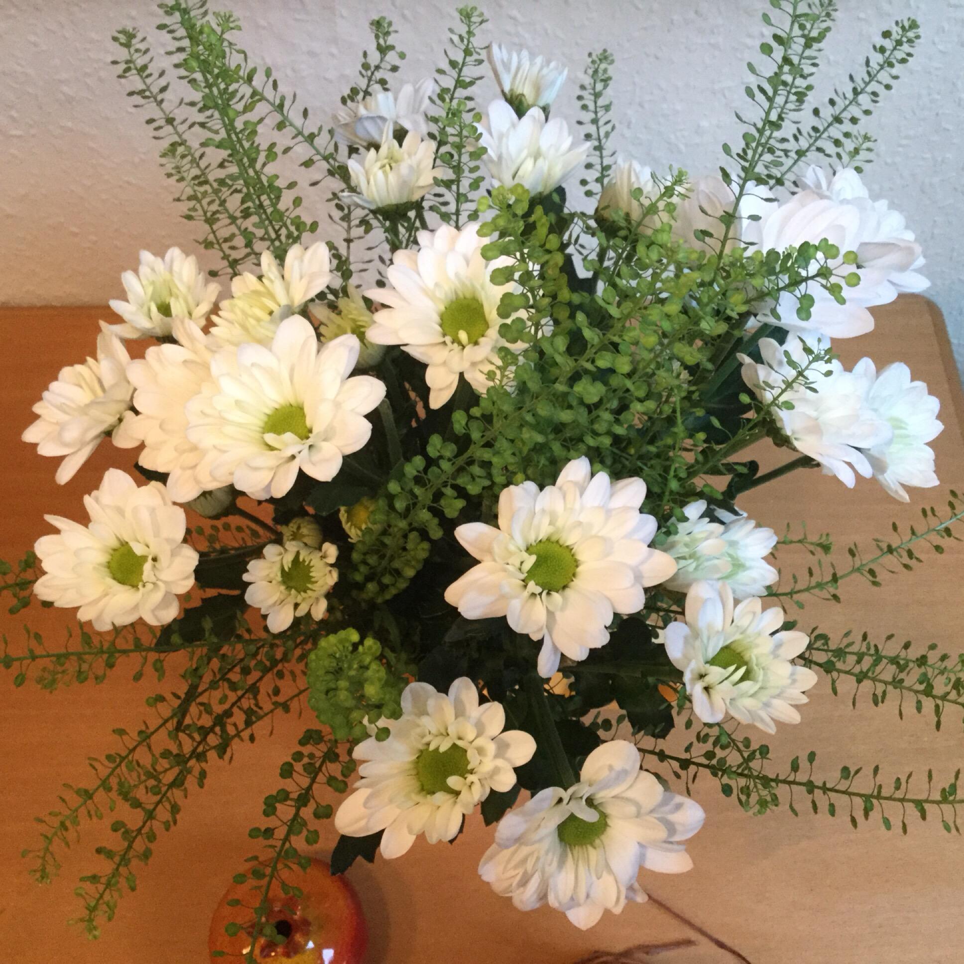 Friday-Flowerday – oder – Der letzte Herbststrauß