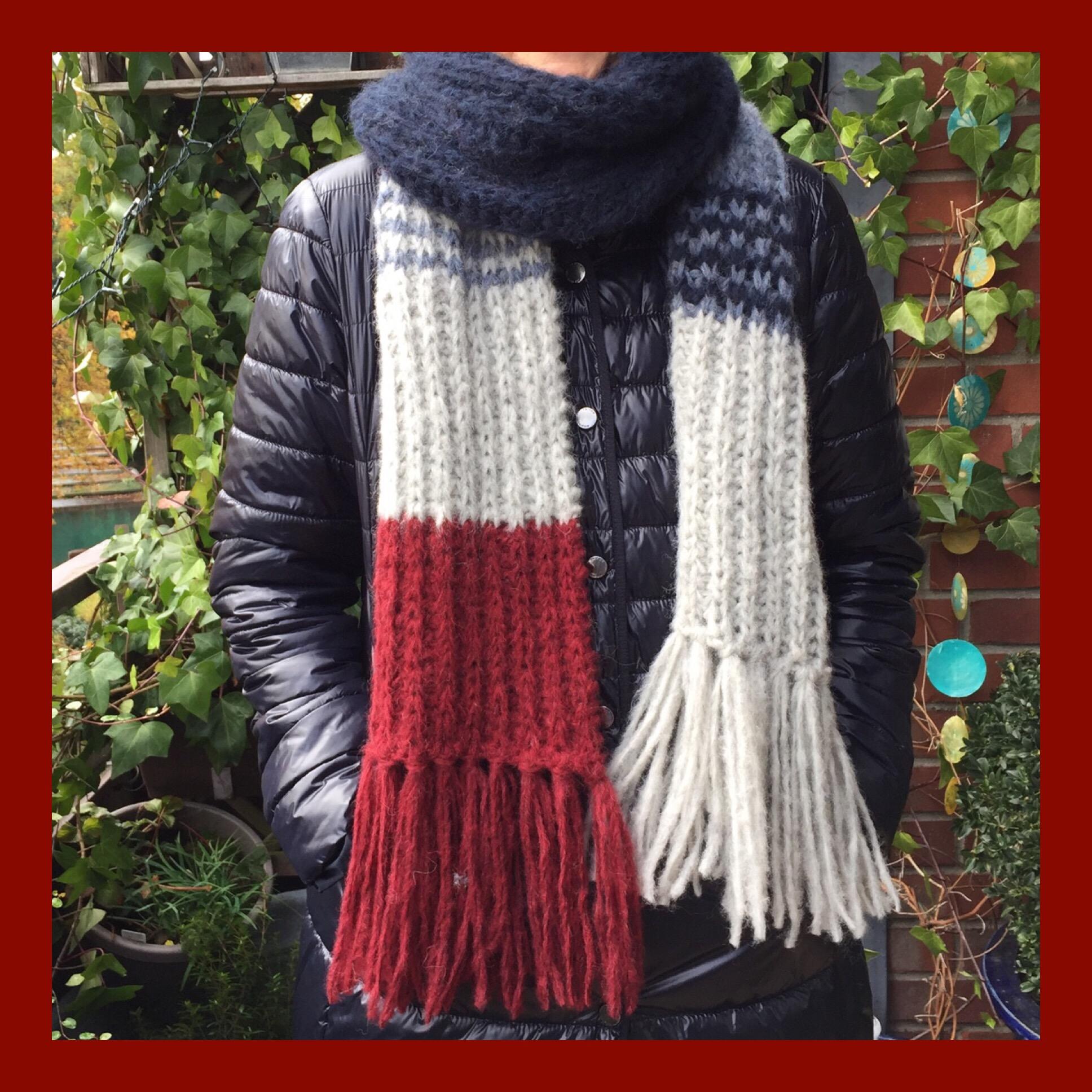 Ein Schal für mich – oder – Der Schal fürs Leben in meinen Farben