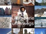 Vom Glück die Welt anzuschauen – oder – Lilamalerie unterwegs: Mal nah, malfern
