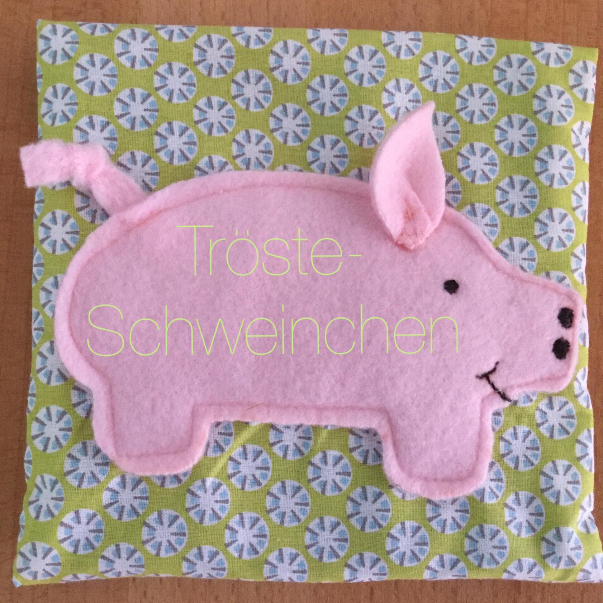 Letztes DIY 2017: Das coole Trösteschweinchen – oder – Mein kreatives 2017
