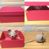Von Häkel-Mäusen, die springen – oder – Von Geschenken, die Spaßmachen