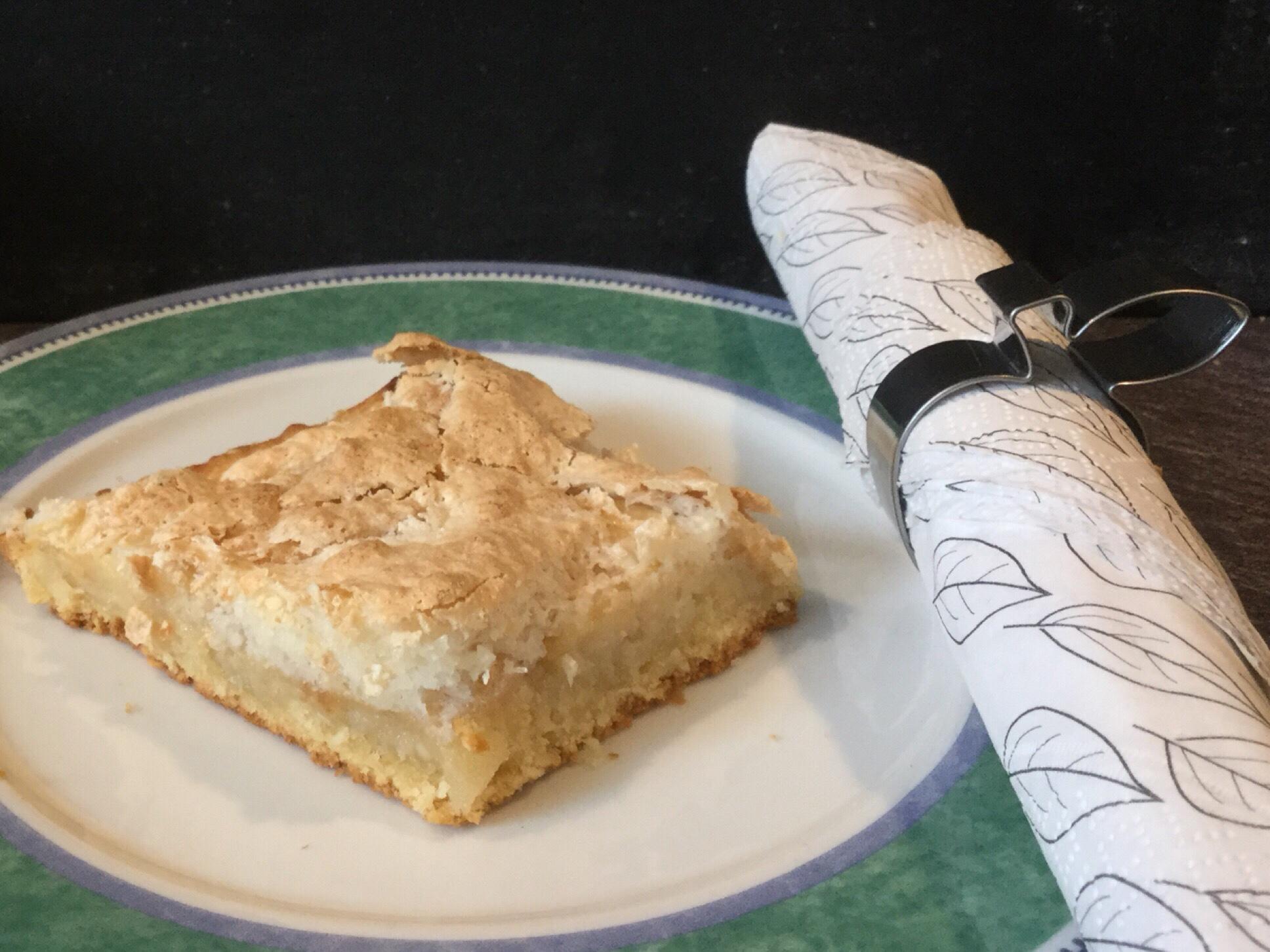 #Sonntagsglück – oder – Apfel, Mandel, Kokos= Ein Apfelkuchen, der glücklich macht