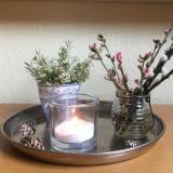 Friday-Flowerday – oder – Ein bisschen Winter, ein bisschenFrühling