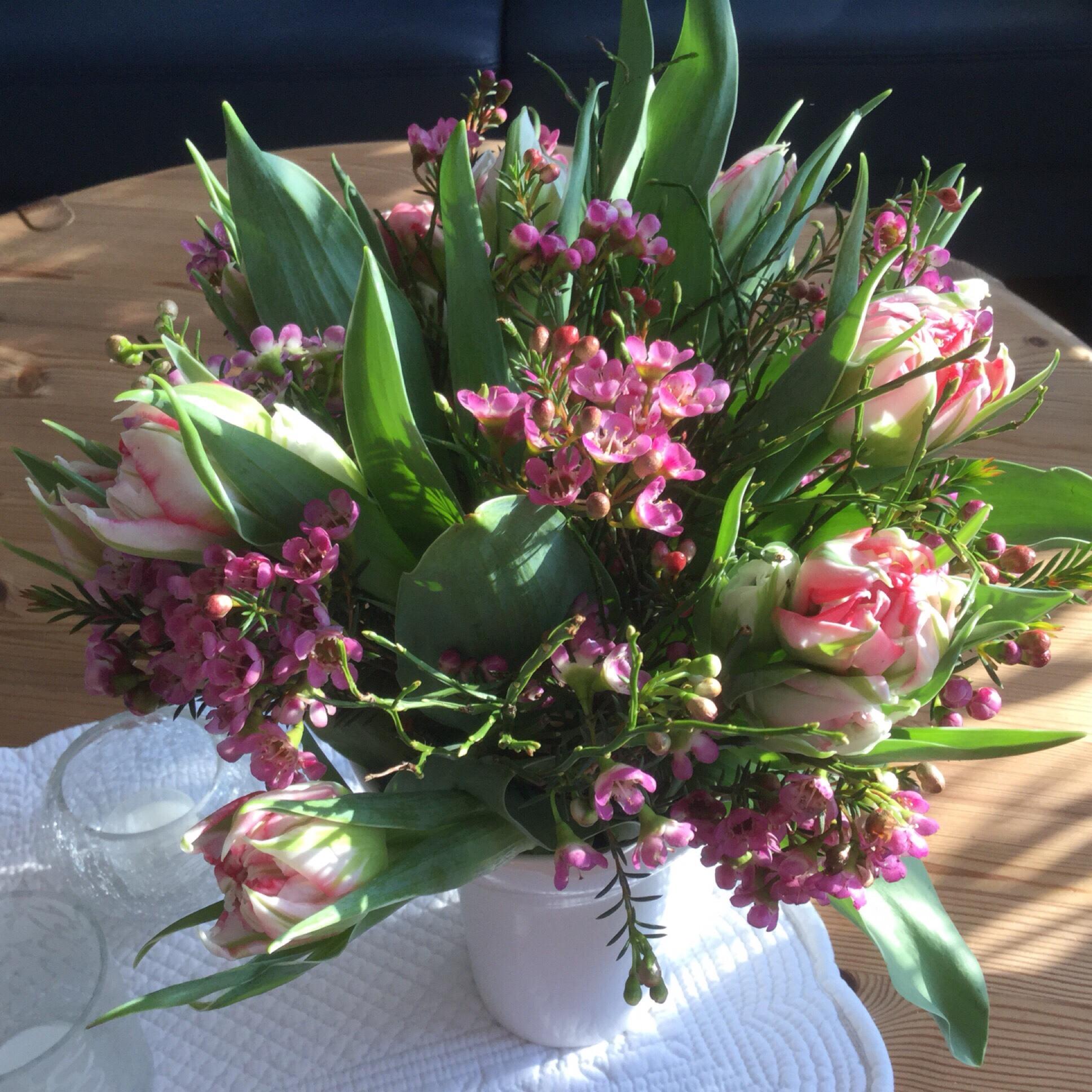 Friday-Flowerday – oder – Einmal Frühling bitte!