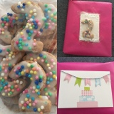 Kekse und Karte-DIY zum 2. Geburtstag – oder – Kekse, gesund undlecker