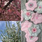 Rosa und helle Blüten – oder – Genäht und inecht