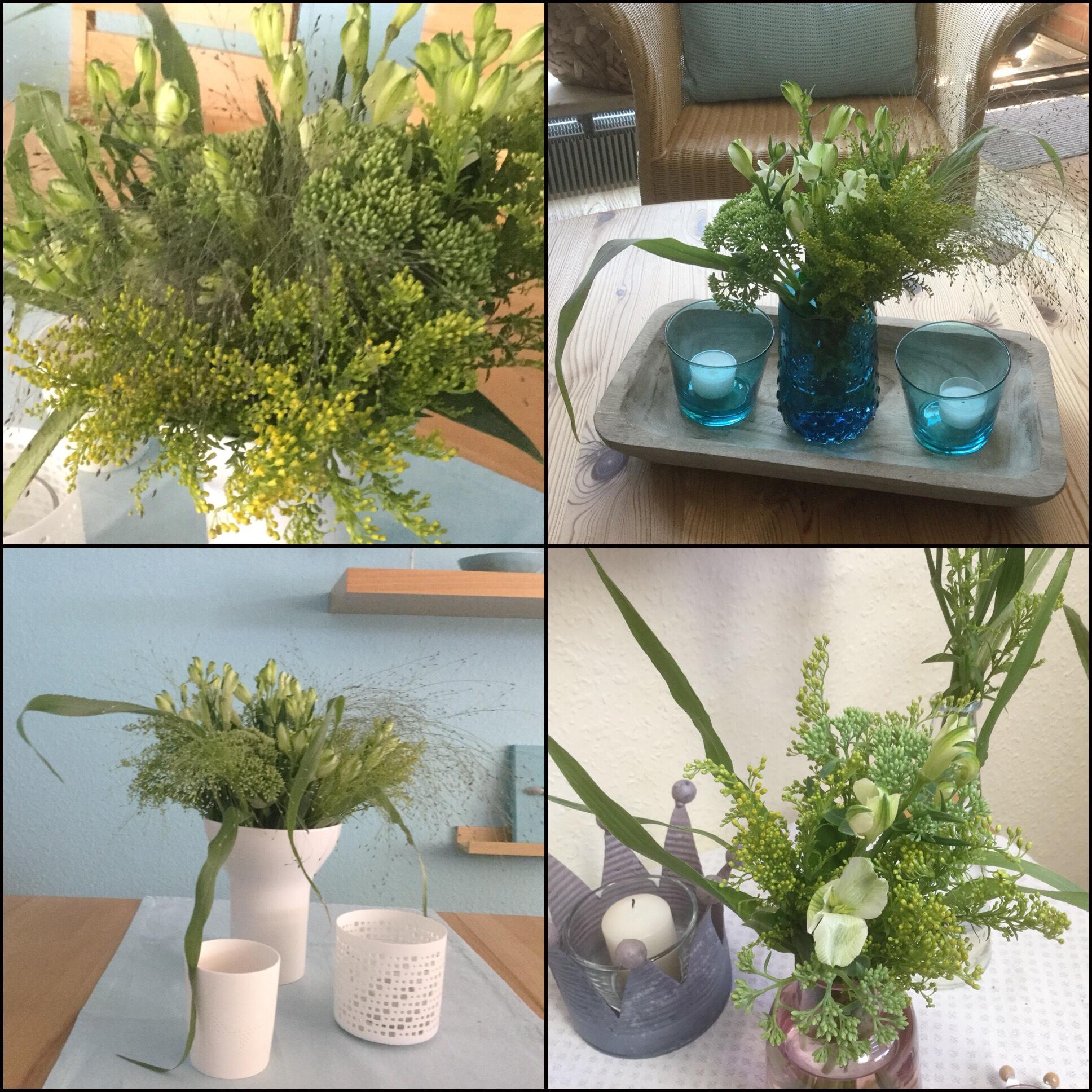 Friday-Flowerday – oder – Aus vier mach drei