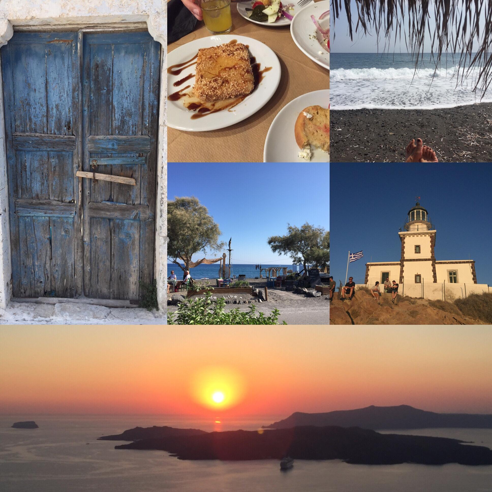 Vom Glück zu reisen – oder – Santorini- Memories