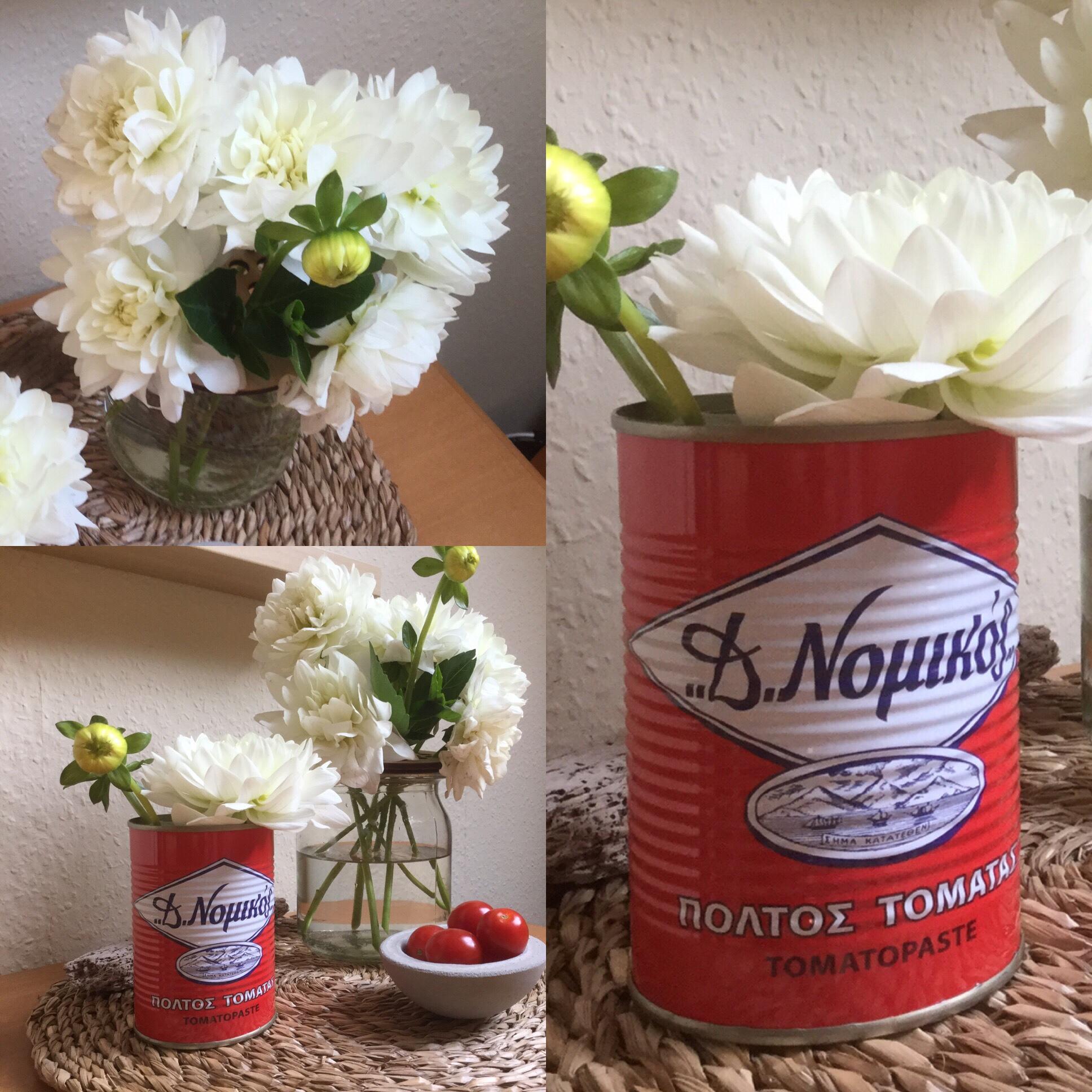 Friday-Flowerday – oder – Von Santorini in den deutschen Herbst