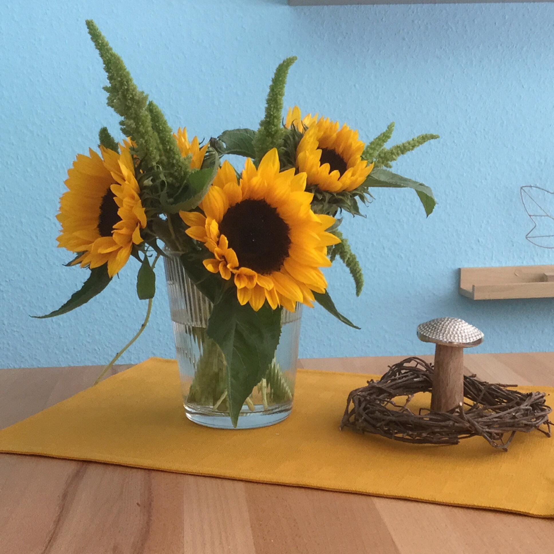 Friday-Flowerday – oder – Ich grüße den Herbst