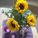 Friday-Flowerday – oder – Sonnenblumen zum Ende des Sommers imHerbst