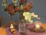 Friday-Flowerday – oder – Kein bisschen Advent: Skimmien undEukalyptus