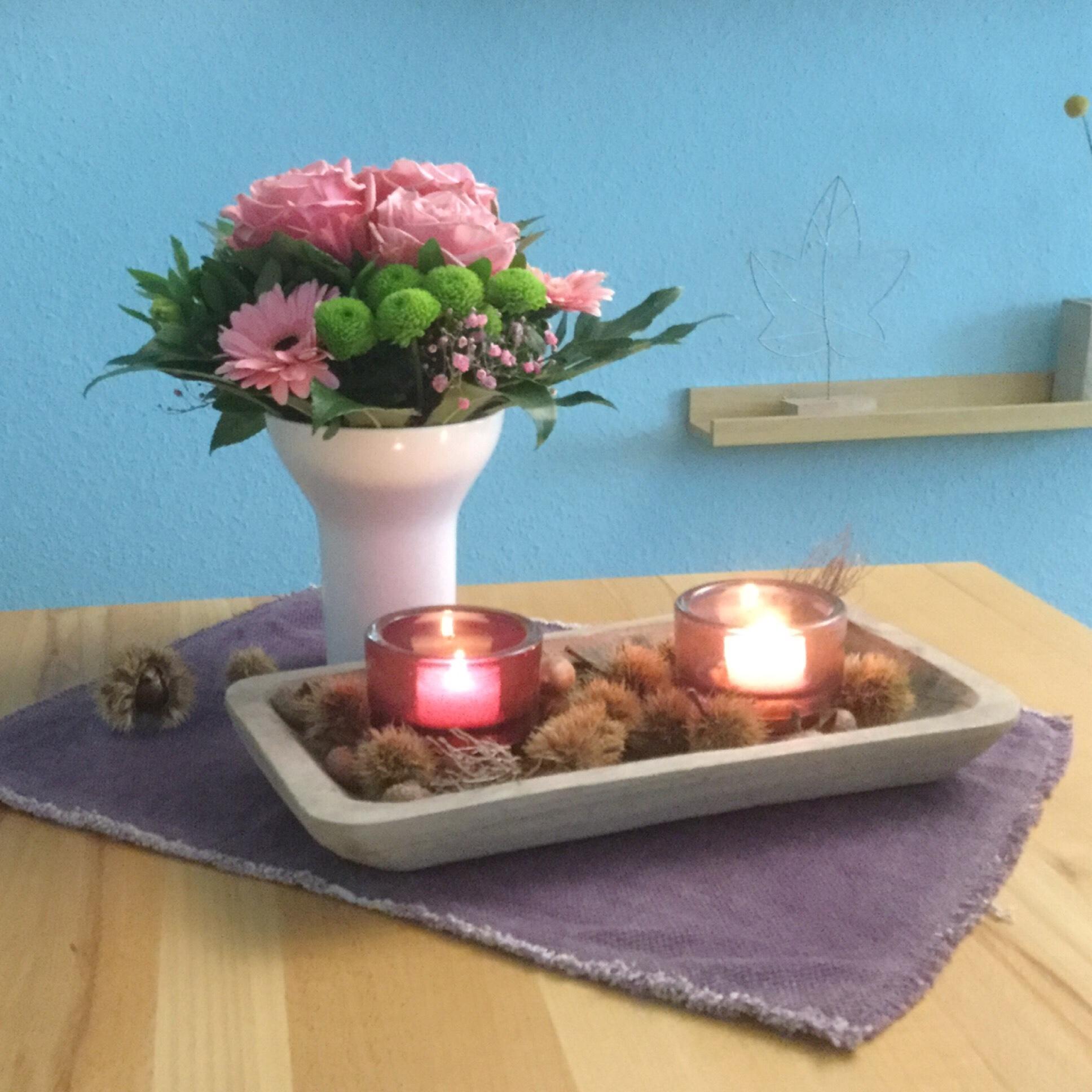 Friday-Flowerday – oder – Der Herbst kann auch rosa sein