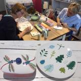 Ein kreativer Sonntagmittag – oder – Keramik bemalen fürZwei