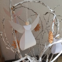 Send me an angel - oder - DIY-Tutorial: Engel aus Papier