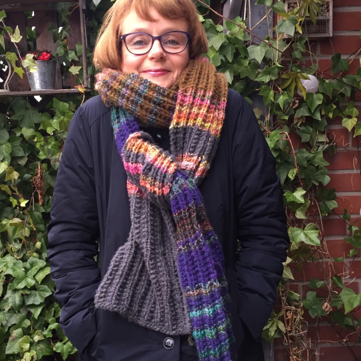 Ein Schal für's Leben - oder - Ein neuer Schal für mich