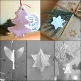 Von Sternen und  Tannen zum Aufhängen – oder – DIY-Anhänger aus Modelliermasse und einige andereIdeen