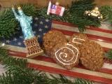 Süße Erinnerung an NY – oder – Cookies mit Haferflocken undApfel.