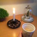 12 von 12 im Januar 2019 – oder – Von Frühstück bei Kerzenlicht, grauem Nieselwetter, Bügeln undLesen