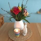 Friday-Flowerday – oder – Tulpen (fast) so bunt wie einRegenbogen