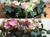 Friday-Flowerday – oder – Blumengestecke zum Behalten undVerschenken.