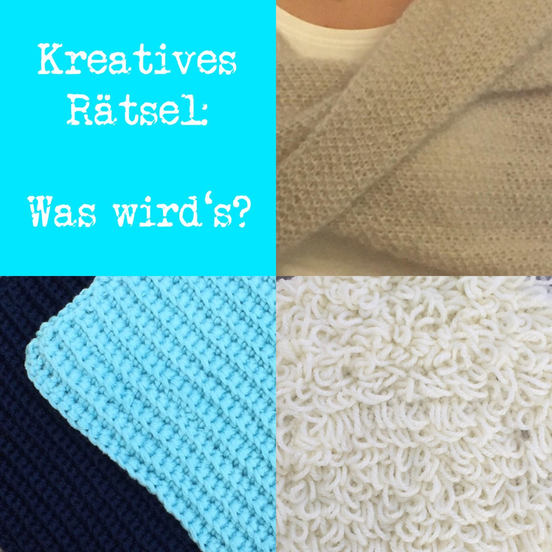 Kreatives Rätsel: Was wird's? – oder – Kleine DIY-Projekte