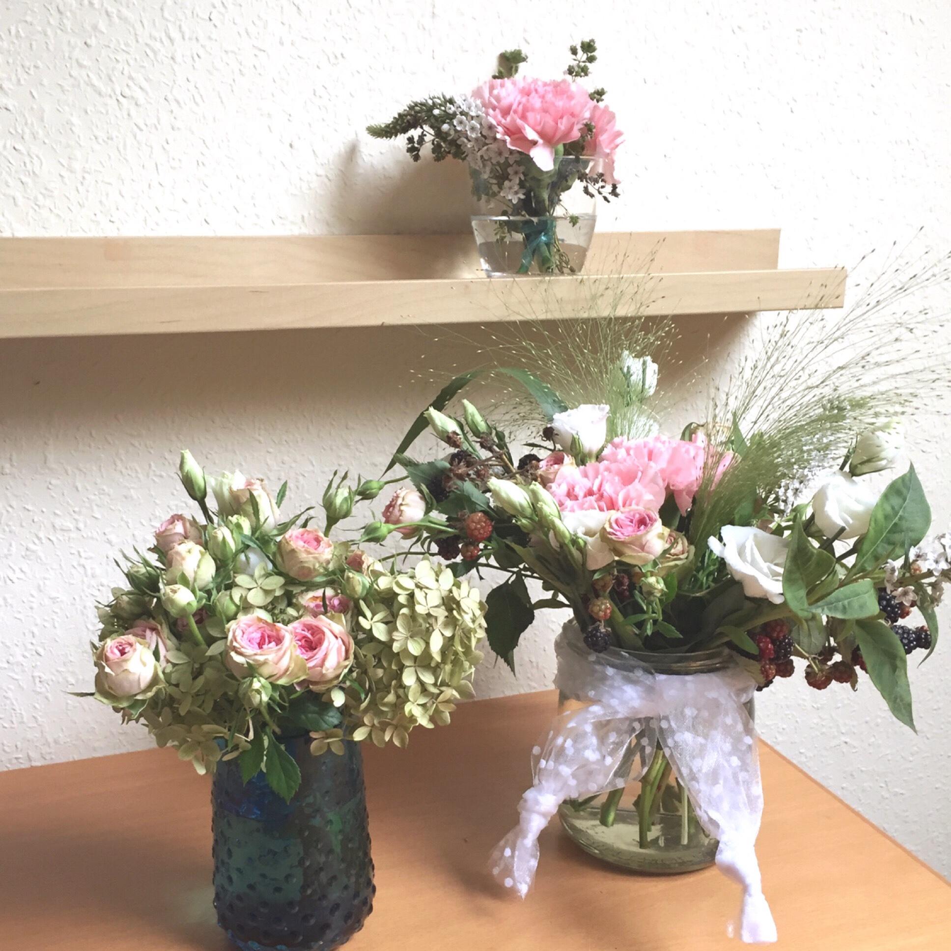 Friday- Flowerday – oder – Kleine Blumennachlese