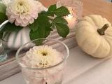 Friday-Flowerday – oder – Von Dahlien, Farn und weißenBlättern