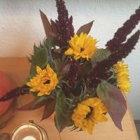 Friday-Flowerday - oder - Herbst in der Küche