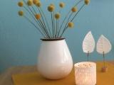 Friday-Flowerday – oder – Was haben Trommelstöcke in einer Vase zusuchen?