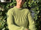 Mein grünes Erstlingswerk – oder – Der Sunday-Sweater istfertig