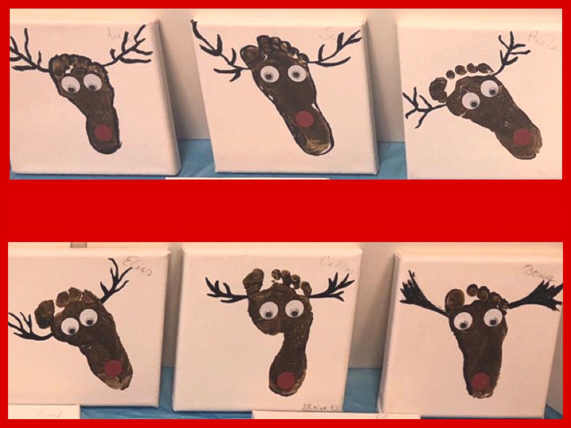 Weihnachten bei Lilamalerie # 7 – oder – Die Rentiere sind los