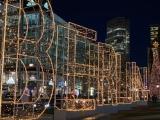 Weihnachtszeit bei Lilamalerie #22 – oder – Berlin: Von weihnachtlich bisarchitektonisch