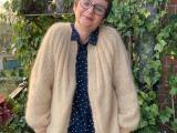 Flauschig, flott gestrickt und vanillegelb – oder – Sunday Cardigan in derMohairedition