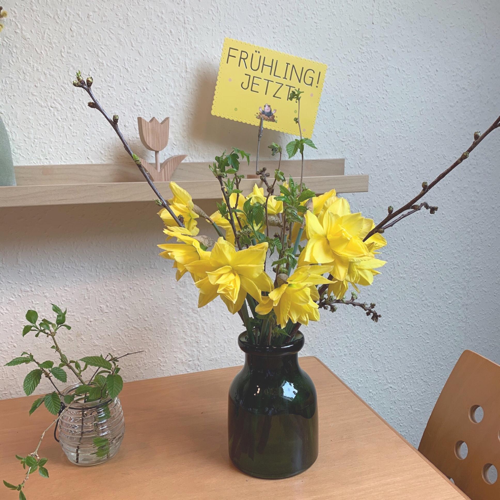 Friday-Flowerday – oder – Frühling, jetzt!!