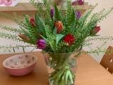 Friday-Flowerday – oder – Jetzt treibe ich es bunt:Tulpen