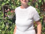 Jetzt kann der Sommer kommen – oder – Ankers Sommerbluse vonPetiteknit