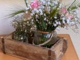 Friday-Flowerday – oder – Der Klassiker: Rosen mitSchleierkraut