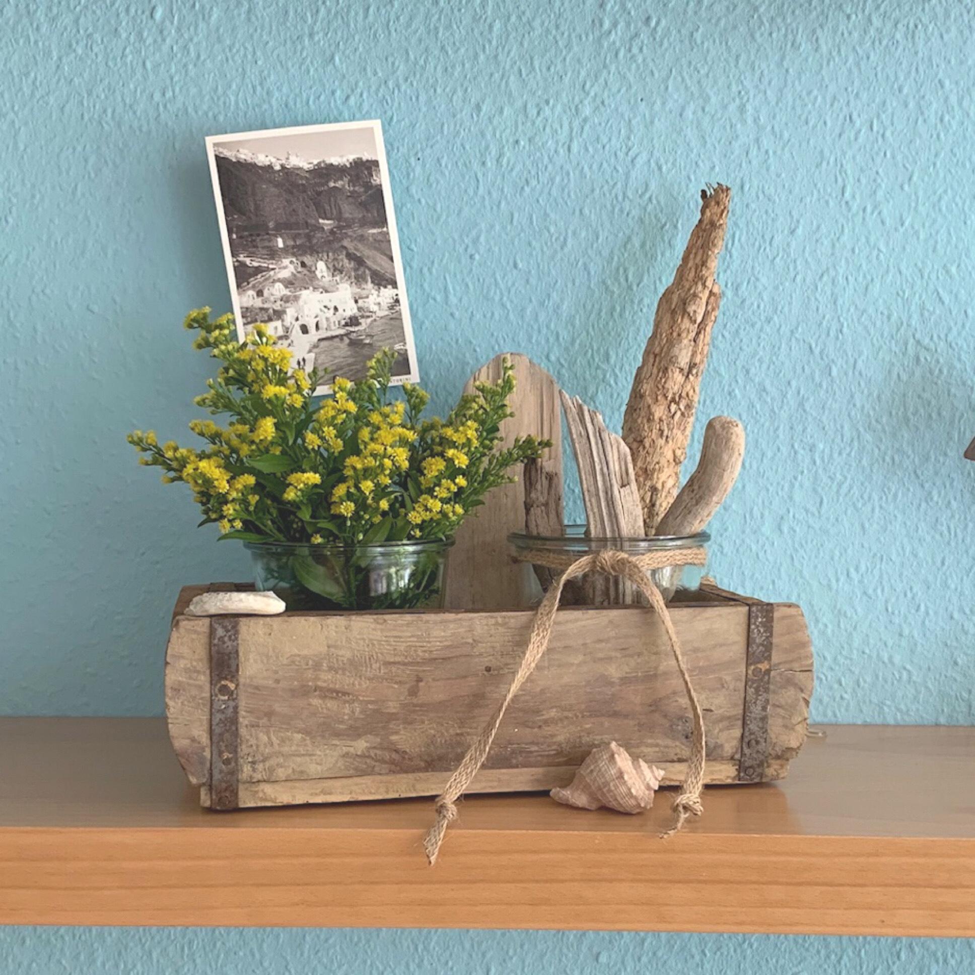 Friday- Flowerday – oder – Maritim und ein bisschen Florales
