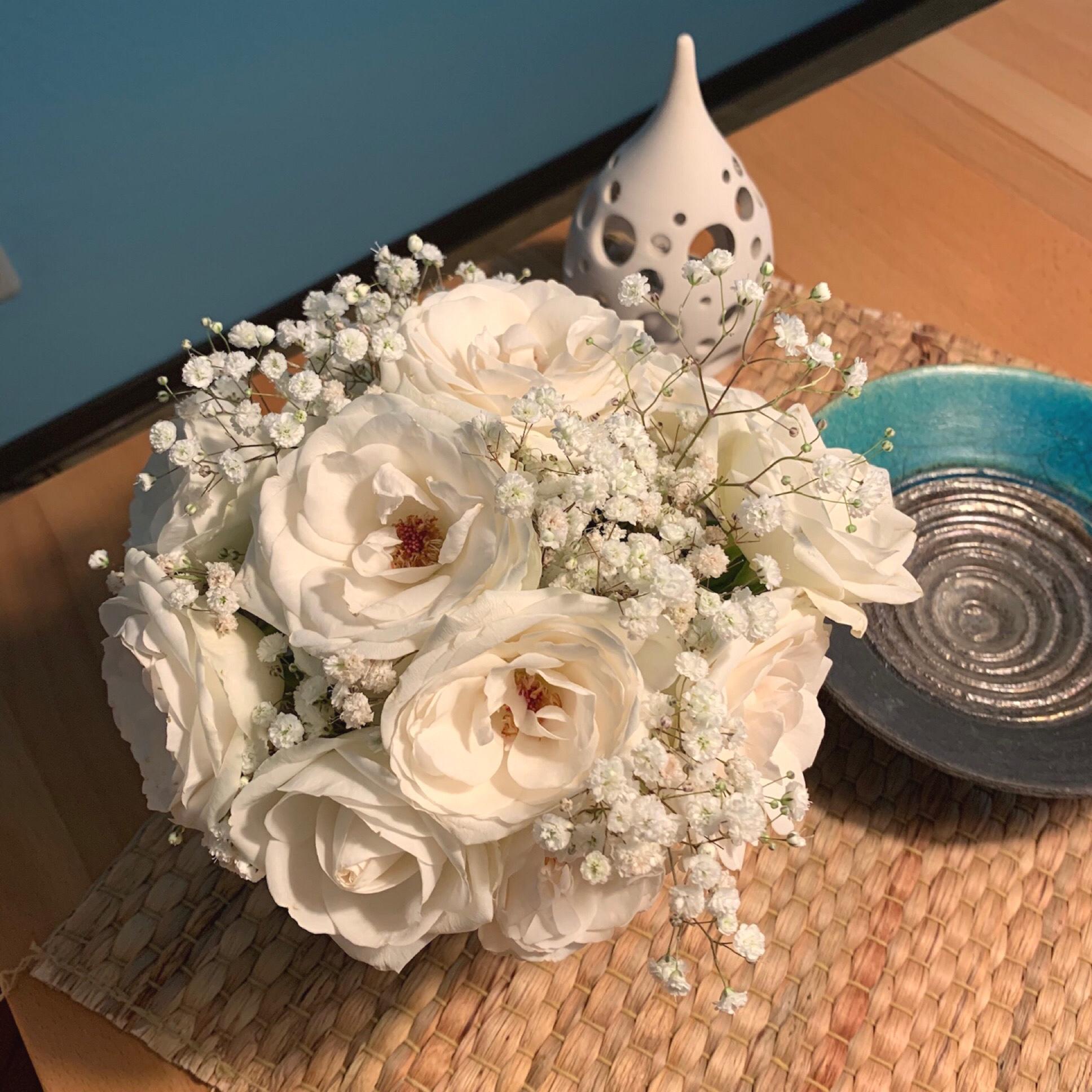 Friday-Flowerday – oder – Versuch macht kluch, äh klug