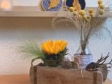 Friday-Flowerday: Sonnenblume #2 – oder – Herbst in derKiste